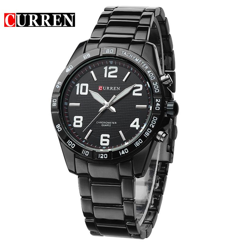 Prix pour Nouveau mode Curren marque conception d'affaires est actuellement le mâle horloge loisirs de luxe montre-bracelet cadeau 8107