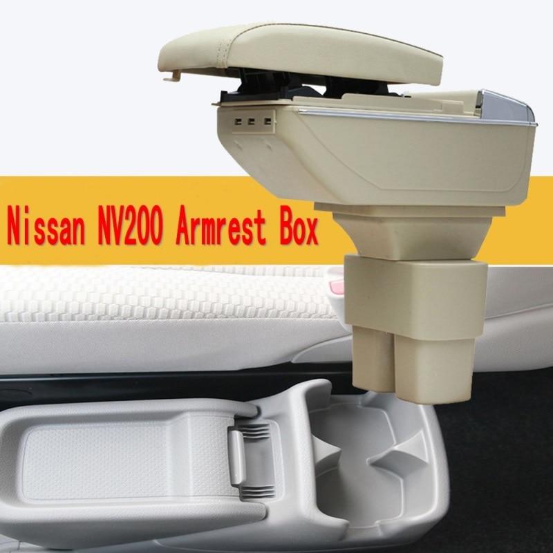 Autóközpont konzolos kartámasz tárolódoboz a Nissan NV200 evalia - Autóalkatrész - Fénykép 3