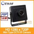 Frete Grátis!! HD 1280x720 P 1.0MP Mini Tipo de Câmera IP Interior Câmera de Segurança ONVIF P2P CCTV Cam