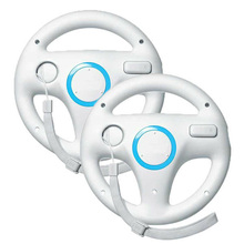 2x Dirección Kart Racing Wheel para Nintendo para Wii Remote Control de Juego Excite Truck Excitebike Para La consola wii juego de Carreras regalo