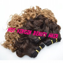 Peruvian Hair Weave 3Bundles 8A Peruvian Ombre Hair Extensions Loose Deep Queen Hair Weaves Unprocessed Ombre Human Hair Wefts