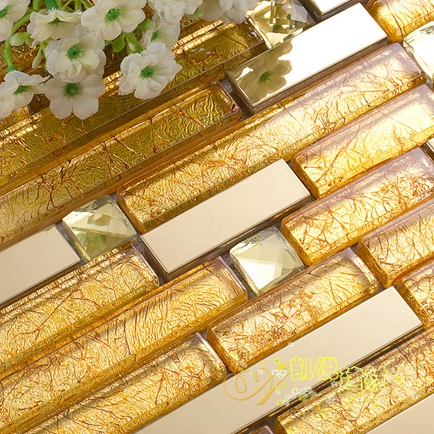 This golden strip glass what