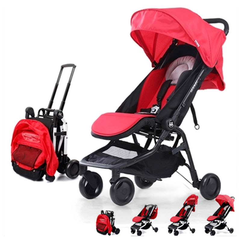 Travel System Airplane Folding Baby Stroller Umbrella High Landscape Pushchair Buggy Trolley Pram Portable Lightweight Stroller travel system airplane folding baby stroller umbrella high landscape pushchair buggy trolley pram portable shoulder bag suitcase