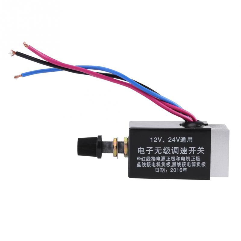 Universal Dc9-60v Motor Controller 10a Pwm Hho Dc Speed Control Switch 2018 New Arrival Electrical Equipments & Supplies Motors & Parts