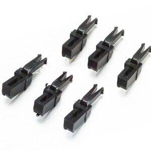 Image 1 - 6 pcs/lot 1:87 scale Train architecture coupler for European PIKO 56042 model trains DIY hook