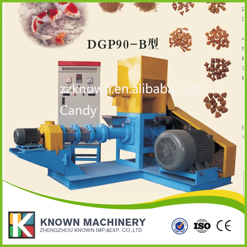 120 150kg/H Automatic floating fish food feed pellet extruder machine fish feed mill machine