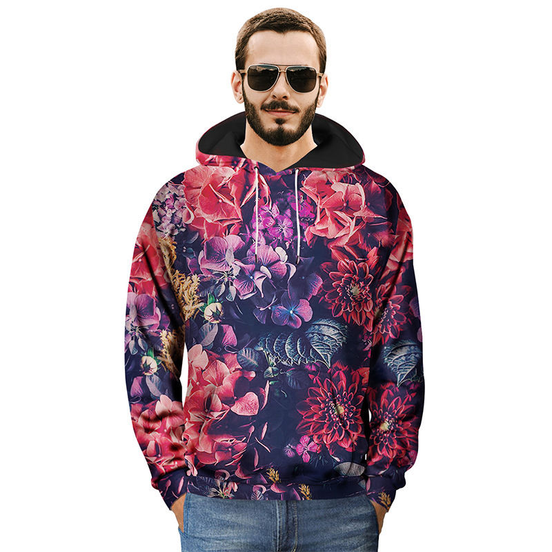 a6b9e9c3d29 Pullovers Flores Tops Hombres Con Imprimir Invierno Hoody Tracksuit  Oversized Picture Hoodie Floral Harajuku 3d Mujeres Retro Rojo As Capucha  Sudadera ...