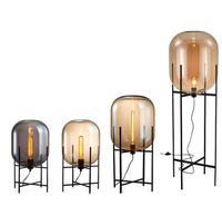 Modern Minimalist nordic Floor Lamp table light Standing up Living room Reading black white lampshade Floor light E27 lamp