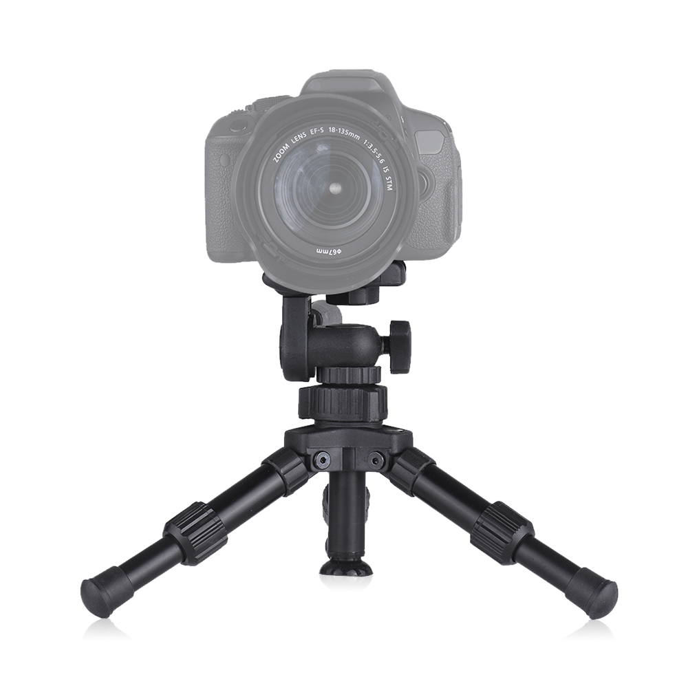 Image 5 - XILETU XB 2 Panoramic Portable Mini Tabletop Tripod For Digital Camera With Three dimensional Tripod Head-in Tripods from Consumer Electronics