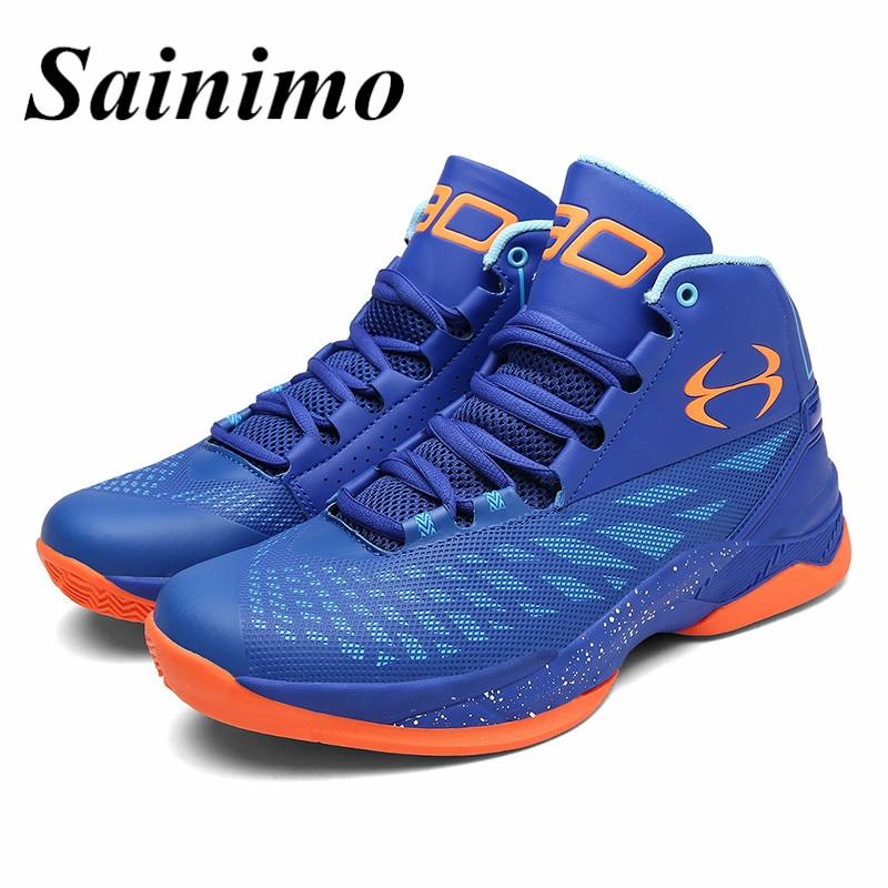 Men women Basketball Shoes Athletic Sports Men Shoes Breathable 2017 Men  Ankle Boots curry shoes Outdoor Sneakers basket homme -in Basketball Shoes  from ... 7ef09e82031b