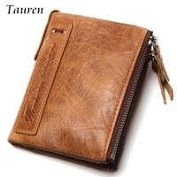 Guarantee 100 Genuine Leather Mens Passport Holder Wallets Man Cowhide Passport Cover Purse Brand Male Credit