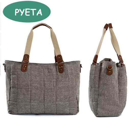 PYETA Baby Diaper Backpack Bolsa Maternidade Bag Nappy Bag Բազմաֆունկցիոնալ ճանապարհորդության Nappy Bag For Stroller Baby Stuff Organizer