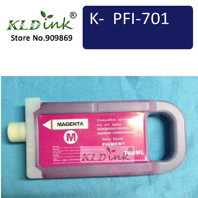 PFI-701M Magenta Ink Cartridge ( PFI-701  0902B001  Ink) Compatible with imagePROGRAF iPF8100 / iPF9000 printerPFI-701M Magenta Ink Cartridge ( PFI-701  0902B001  Ink) Compatible with imagePROGRAF iPF8100 / iPF9000 printer