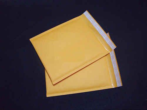 160*220 فقاعة الارسال المغلفات المحشوة صغيرة الحجم كرافت ورقة الهواء فقاعة المغلف حقيبة اللون الأصفر