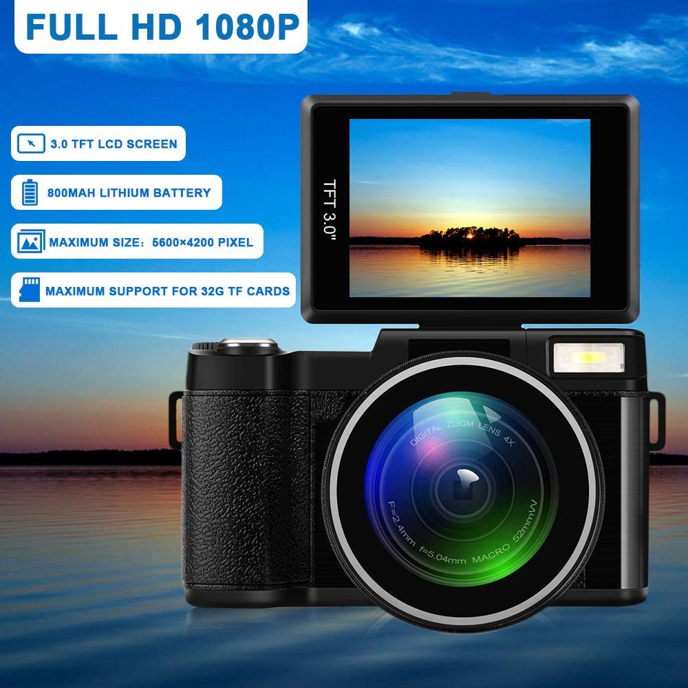 Esddi appareil photo numérique caméscope vidéo numérique professionnel haute Performance 3.0 pouces LCD 1080 P photographie