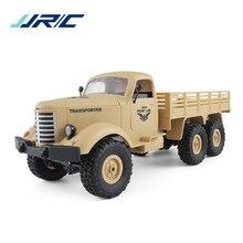 JJRC Q60 RC автомобили 6WD внедорожника военный грузовик наклонной плоскости дифференциальный амортизаторы Скорость преобразования яркий прожекторы