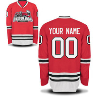 COLDINDOOR Custom Logo Ice Hockey Jersey Sublimation Gum Patch Jersey