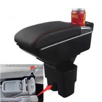 Car Arm Rest Rotatable For Nissan NV200 Chevrolet City Express Evalia 2010 2017 Center Centre Console Storage Box 2011 2016