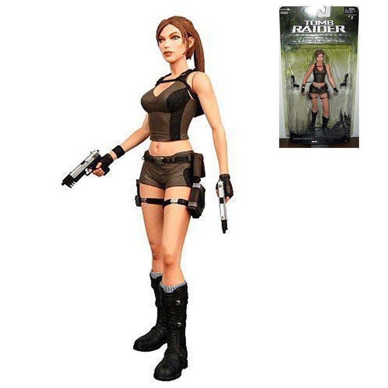 Neca Tomb Raider Underworld Lara Croft 18cm/7 Action Figure New in Box Free Shipping чайник lara lr00 04 r page 7