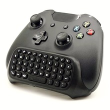 Black Mini Bluetooth wireless Best Adapter keyboard Keypad Text Pad for For Microsoft Xbox One Console Controller