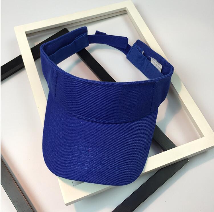2019 New Top Empty Hat 13 Colors Men Women Summer Outdoor Sport Sun Visor Cap Hat For Golf Hiking Tennis Running Sunscreen Cap