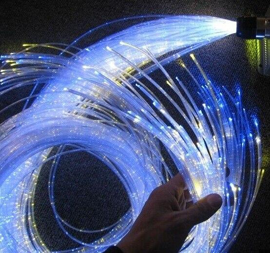 Цветной светодиодный rgb волоконно оптический комплект 60 шт. 3*0,75 мм 3 м заградительный кабель с ИК пультом дистанционного управления FY 750 * 3 003 - 4