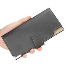High Quality Men Wallets Long Style Card Holder Male Purse Zipper Large Capacity Brand Pu Leather Wallet For