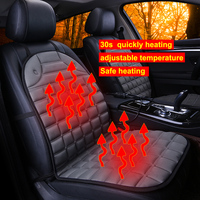 Dewtreetali 12V Two Seat Heater Winter Car Seat Cushion Cover Heated Car Seats Cover Warmer Auto