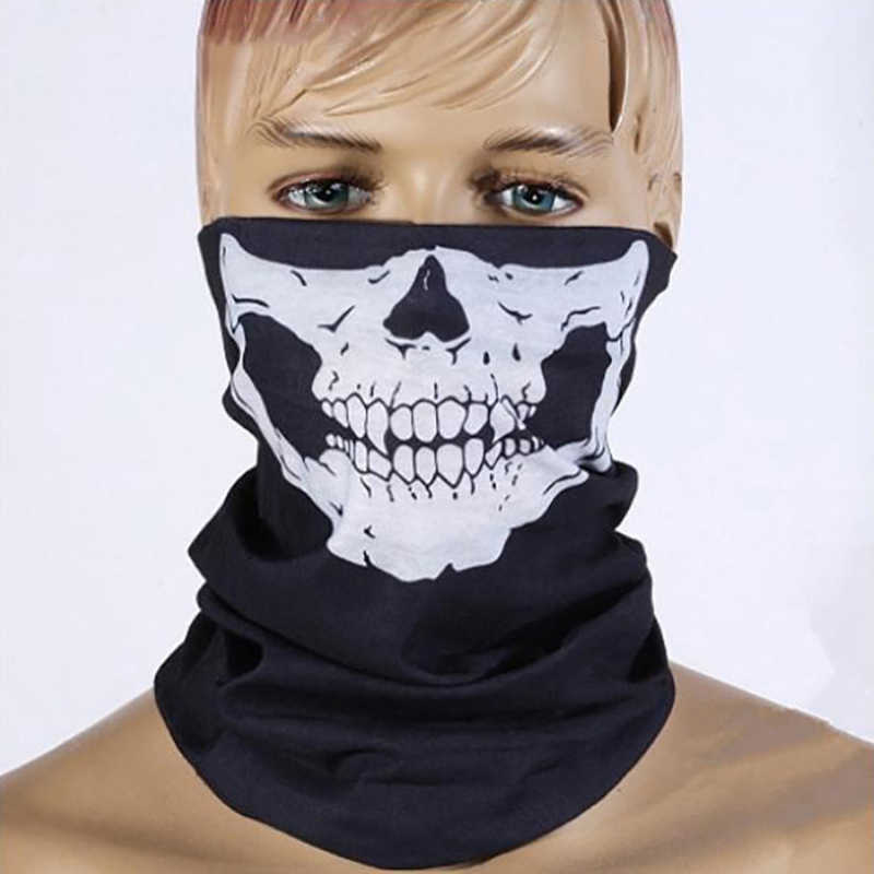 Brand New Motocycle helmet Sport Headband Bike Halloween Skull Balaclava Skull Bandana Paintball Ski Motorcycle Scarf Headwear