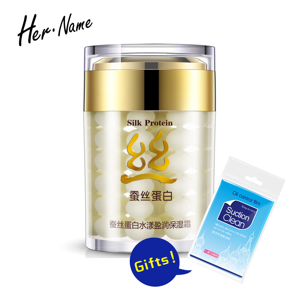 bioaqua Collagen Protein Moisturizer Face Cream Anti Wrinkle Age Anti Acne Whitening Cream Silk Skin Care Ageless Products