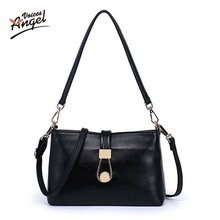 Angel Voices 2017 Genuine Leather Women's Handbags Fashion Womens Messenger Bag Shoulder Bag Ladies Crossbody Bags