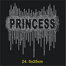 SINUAN Rhinestone Hotfix Motif Customize Rhinestones Iron-On Patches For Clothes 10Pieces Stickers Diy Accessories