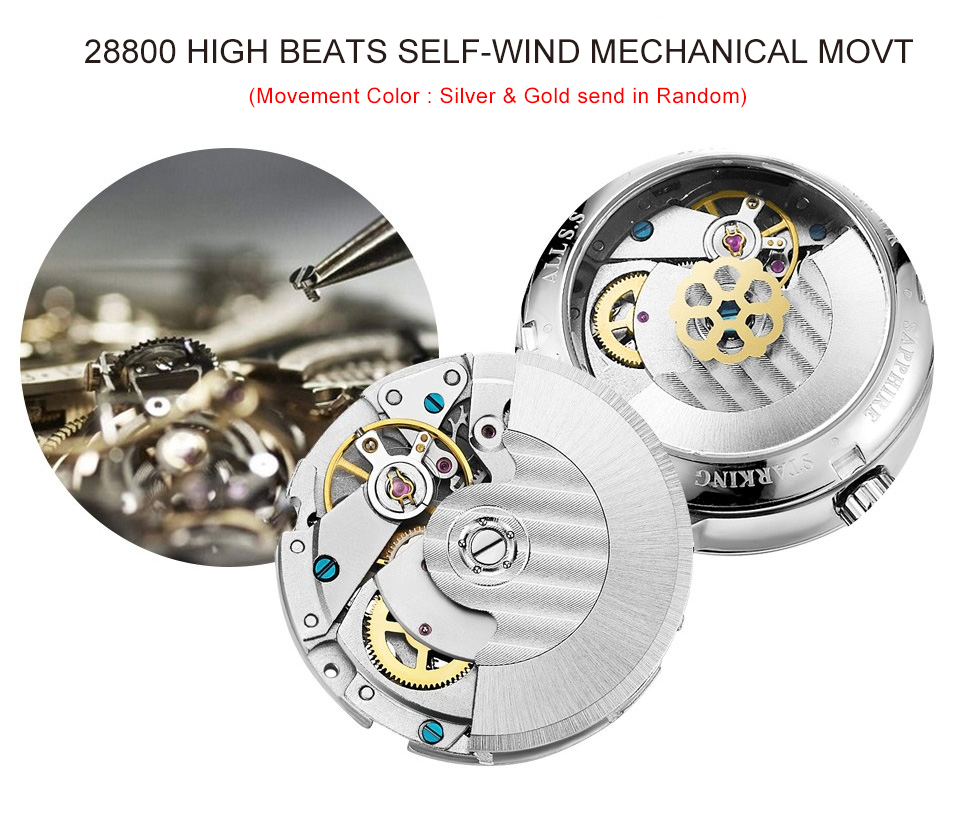 HTB1wFzbaFP7gK0jSZFjq6A5aXXaH STARKING Automatic Watches Men Stainless Steel Business Wristwatch Leather Fashion 50M Waterproof Male Clock Relogio Masculino