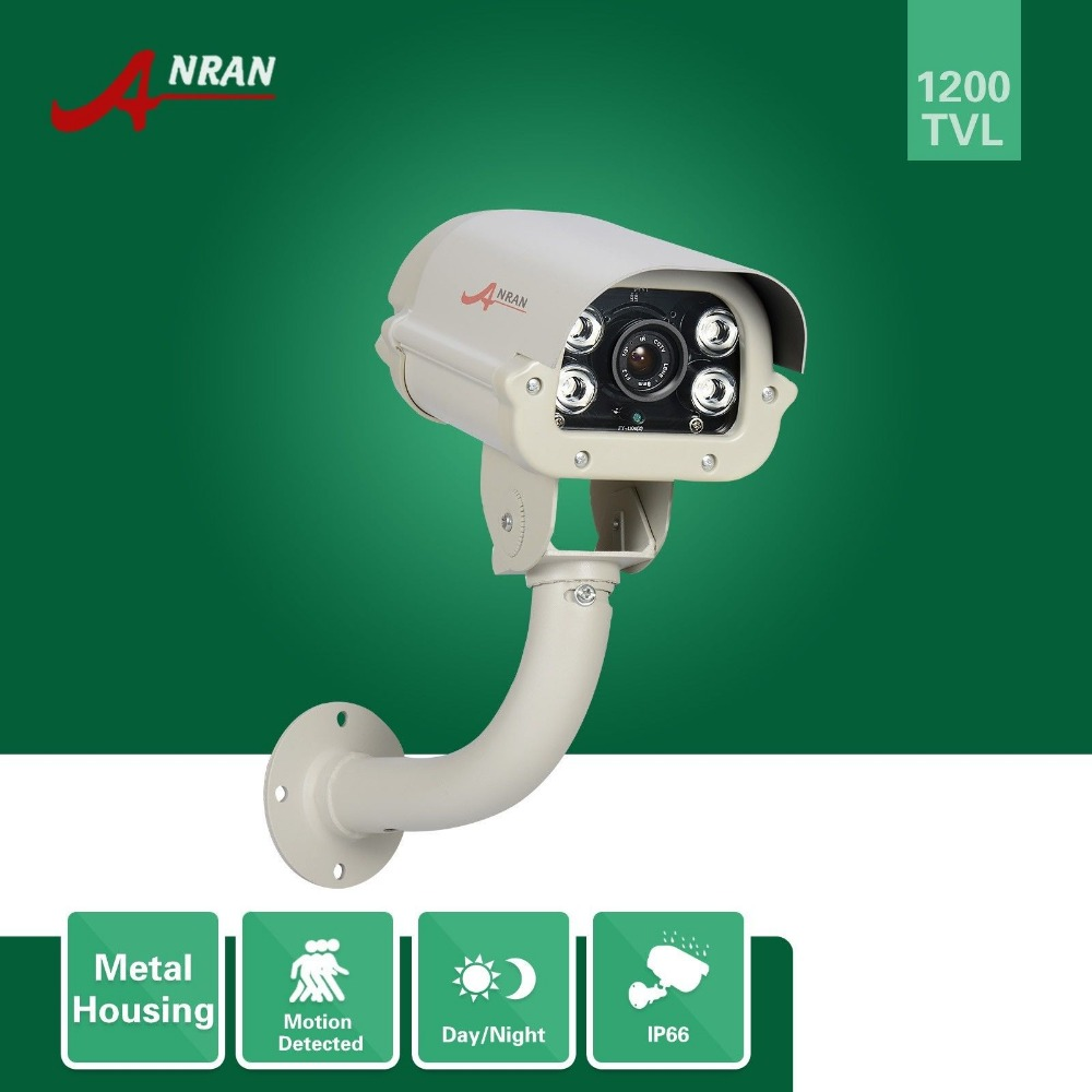 ФОТО CCTV 1200TVL HD SONY IMX138 CMOS Sensor 4 Array IR Camera Waterproof Security Outdoor Bullet Camera Night Vision With IR-cut