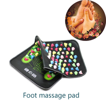 35x70cm Reflexology Walk Cobblestone Pain Relief Foot Massager Acupoint Massage Mat Pad Acupressure Health&Beauty Promote sleep