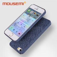 3D Mosaic Case For iPhone 5s 5 se Case Luxury Ultra Thin Matte Hard PC Shockproof Coque 5S Case Cover For iPhone se Phone Cases(China)