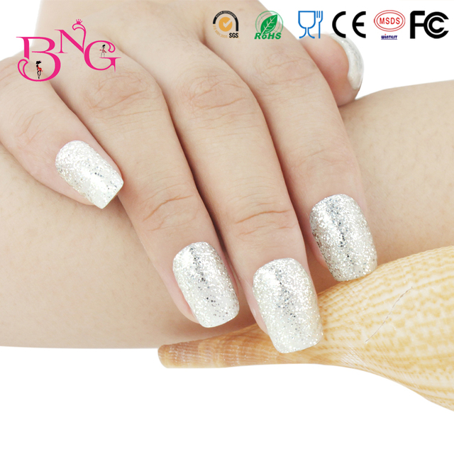 Beauty Party Gloss Glitter Silver Color #69 UV Gel Varnishes Nail ...