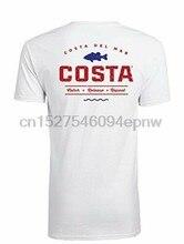 c9c88705fee4 Costa Del Mar Topwater Camiseta de manga corta rojo-Blanco-azul mediano  97963672009(