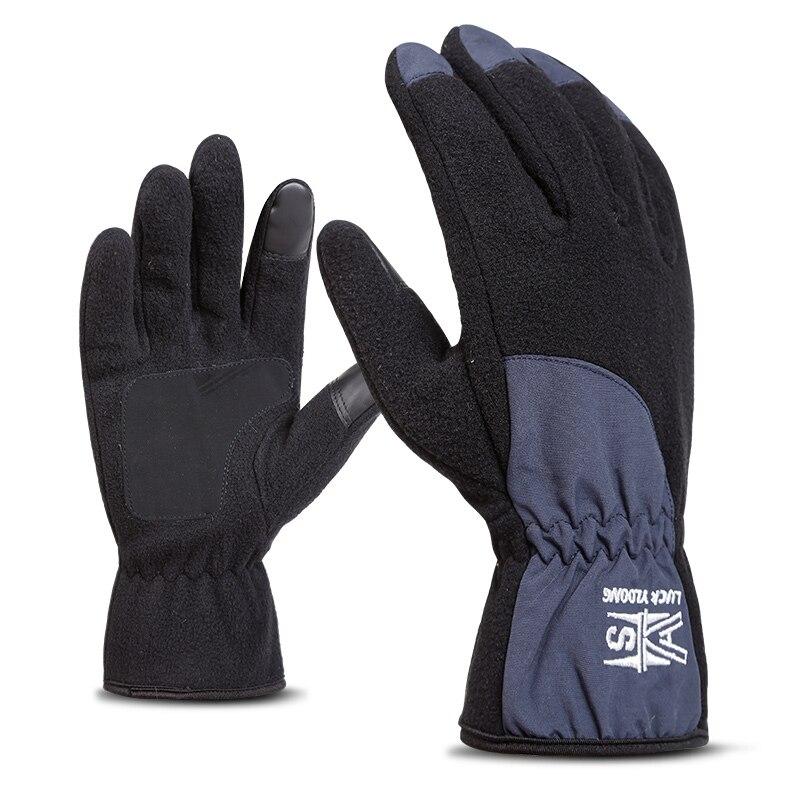 SAENSHING Thermal Skiing Gloves Winter Men Women Kids Fleece Touch Screen Snowboard Gloves Outdoor Waterproof Snow Motorcycle