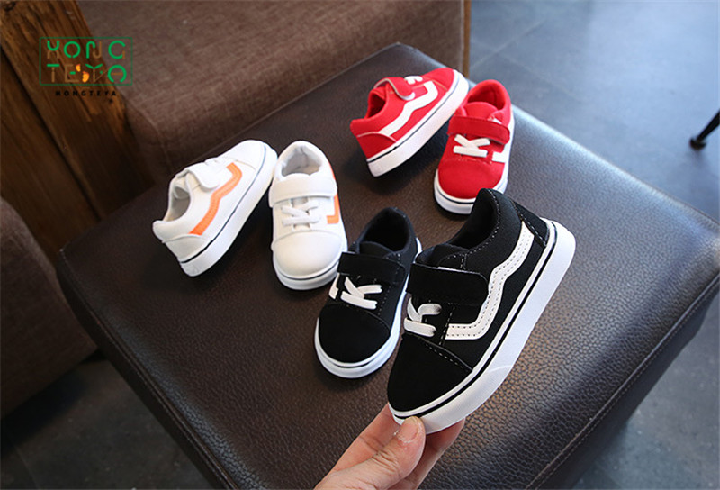 Baby Shoes Soft Bottom Baby Boy Casual Shoes 1-3 Years Old 2020 Spring Children Canvas Shoes Girls Walking Shoes Toddler