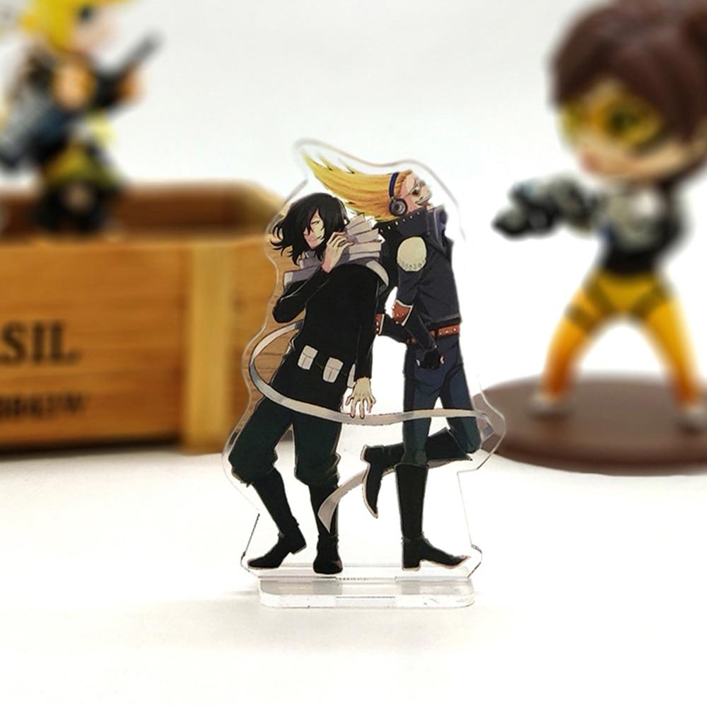 Love Thank You Boku No Hero Academia Shouta Eraser Head Present Mic Acrylic Stand Figure Model Plate Holder Cake Topper Anime