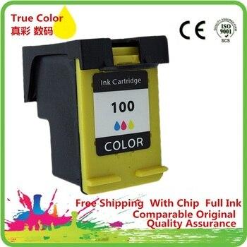 Cartuchos de tinta remanufacturado para 100 XL 100XL HP100 HP100XL C9368W Photosmart 2578, 2608, 325, 335, 375, 385, 425, 475, 7838 8038