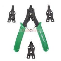 SD Snap Ring Pliers 4 in 1 Retaining Circlip Tool Replaceable Tips