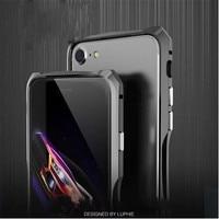 For Apple Mobile 7plus Case The Original Luphie Brand Luxury Aluminum Metal Bumper Apple Mobile Phone