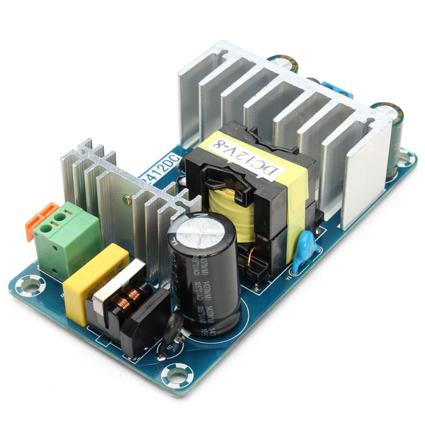 6A To 8A <font><b>12V</b></font> Switching <font><b>Power</b></font> <font><b>Supply</b></font> <font><b>Board</b></font> Overvoltage Overcurrent Circuit Protection AC-DC <font><b>Power</b></font> Module image