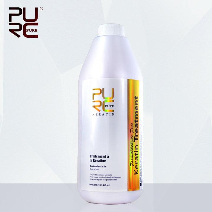 Traitement de kératine brésilienne formaldéhyde livraison 1000 ml réparation endommagé cheveux redresser cheveux meilleur produits de salon livraison gratuite