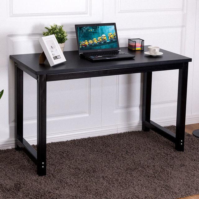 Giantex 47u0027u0027 Computer Desk PC Modern Laptop Table Study Writing Workstation  Home Office Console