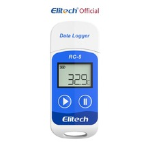 цена на Elitech RC-5 Digital USB Temperature Data logger High Accuracy for Temp C/F Recorder-2 Years Quality Guarantee