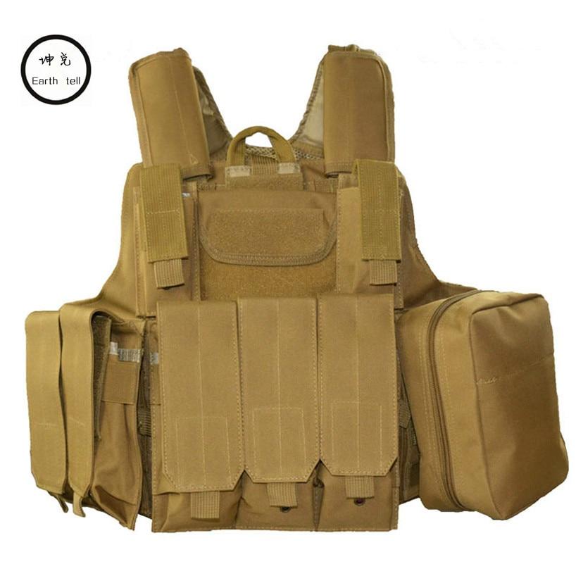Getriebe Tarnung Rucksack Shown Tasche Weste Dekompression Schulterpolster Plate as Shown 8 Wargame Packungen As Carrier 1000d 6 Reise Paintball Stücke PxHwqE7pd7