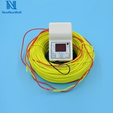 Greenhouse Nursery Bed Heating Wire+Temperature Controller Kit Air Heating Cable Line Flower/Vegetable/Succulent Plants Winter